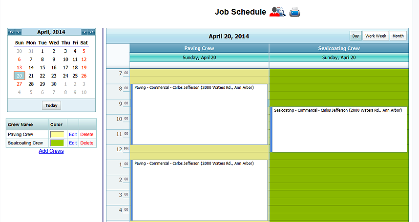 job scheduling Learn how to organize your service business scheduling with jobber's suite of scheduling features routing, drag-and-drop calendars and more.